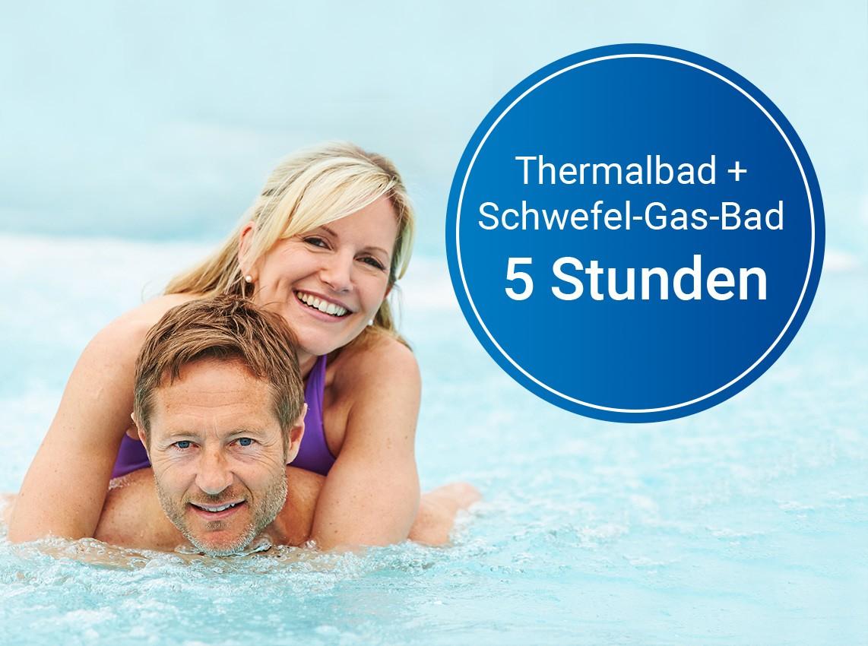 Gutschein: Schwefel-Gas-Bad (5 Std.)