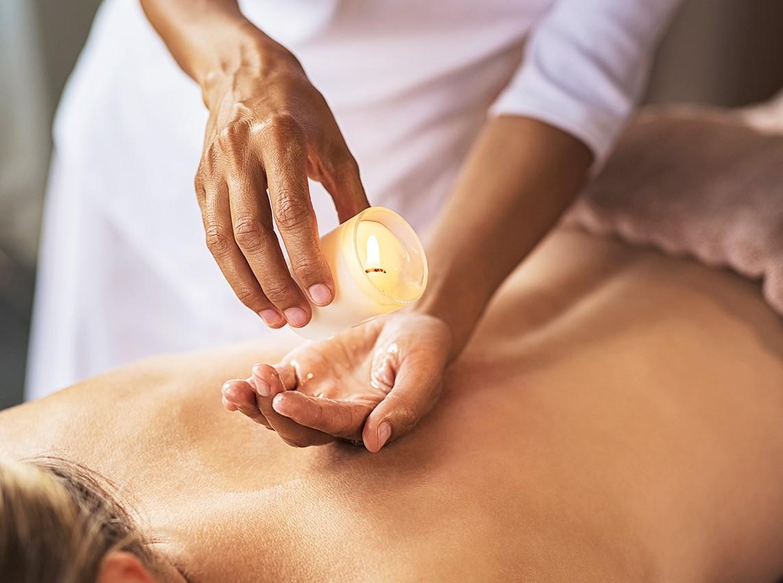 Gutschein: Kerzenöl-Massage (25 Min.)