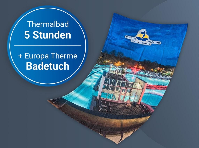 Wertgutschein: Thermalbad (5 Std.) + Badetuch