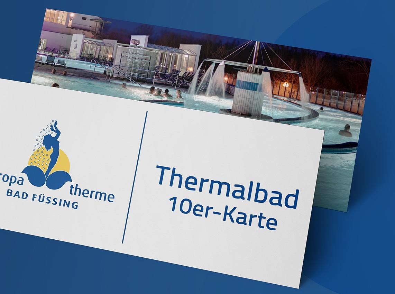 Wertgutschein: 10er-Karte Thermalbad (5 Std.)