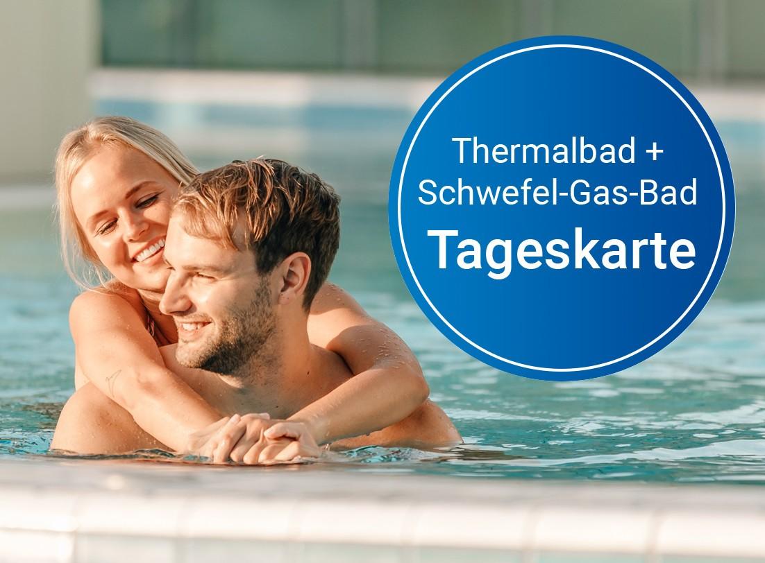 Gutschein: Schwefel-Gas-Bad (Tag)