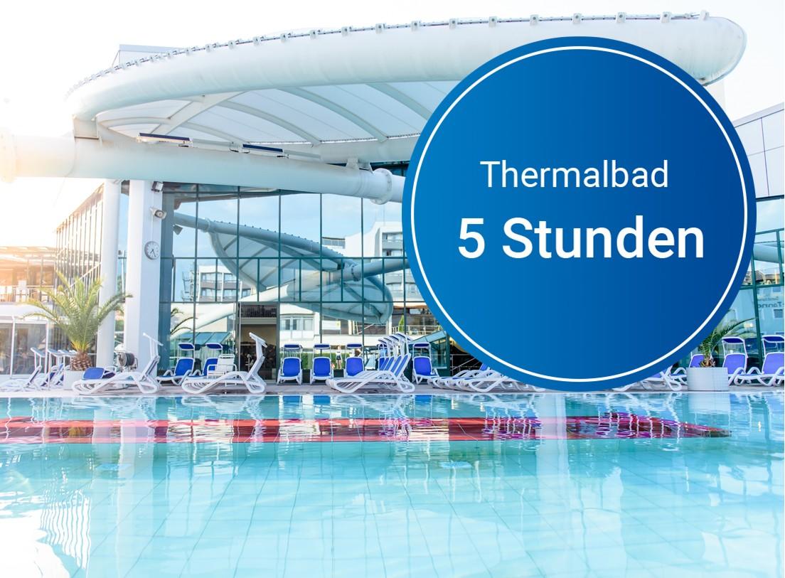 Wertgutschein: Thermalbad (5 Std.)