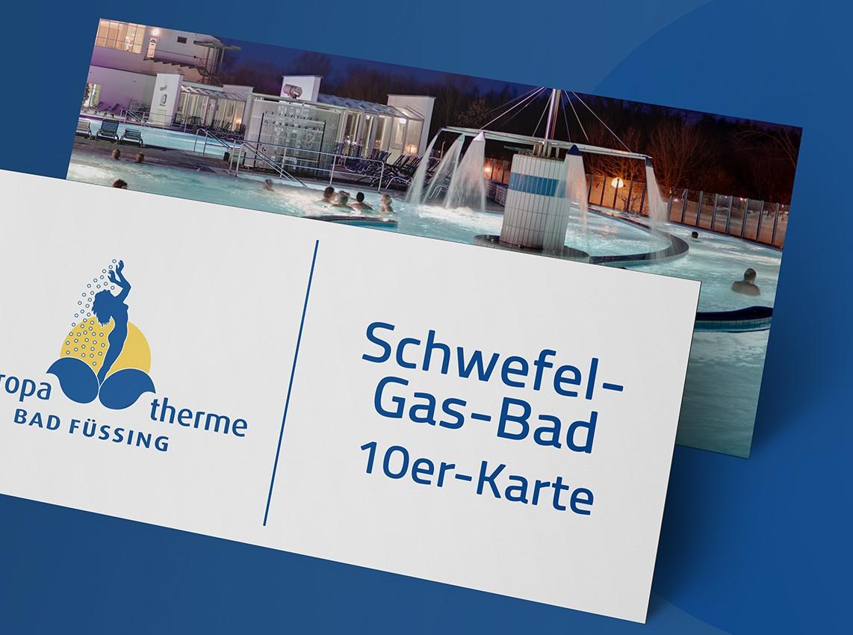 Wertgutschein: 10er-Karte Schwefel-Gas-Bad (5 Std.)